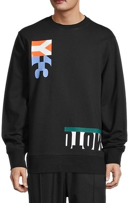 Y-3 Graphic Cotton Sweatshirt