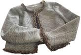 Manoush Purple Cotton Jacket for Women