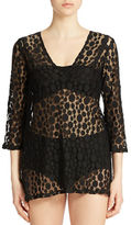 J Valdi Open Knit Cover-Up