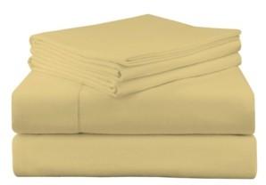 Pointehaven Luxury Weight Flannel Sheet Set Queen Bedding