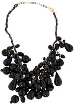Alexis Bittar Crystal Bead Cluster Necklace