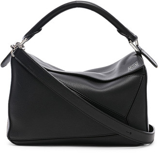 Loewe Puzzle Small Bag in Black | FWRD