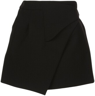 Wardrobe.Nyc x The Woolmark Company Release 05 wrap mini skirt