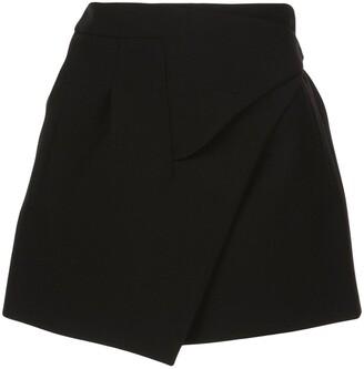 Woolmark x The Company Release 05 wrap mini skirt