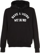 Undercover 'Have a weird weekend' hoodie