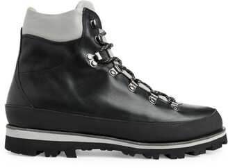 Arket Leather Hiking Boots