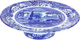Spode Dinnerware, Blue Italian Cake Stand