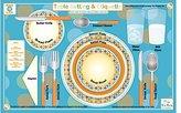 Tot Talk Table Setting & Etiquette Placemat