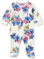 Joules Baby Girls Newborn-18 Months Baby Razama Floral-Print Footed Coverall