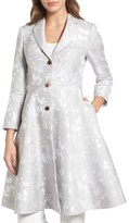 Ted Baker Women's Jacquard Fit & Flare Coat