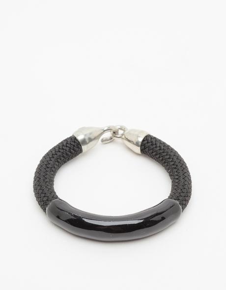 Orly Genger by Jaclyn Mayer Annabelle Bracelet Noir/Noir