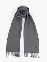 Lanvin Grey Wool Scarf