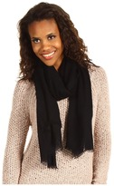 UGG - Heritage Woven Scarf (Black) - Accessories