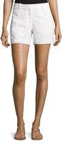 MICHAEL Michael Kors Cotton Eyelet Shorts, White