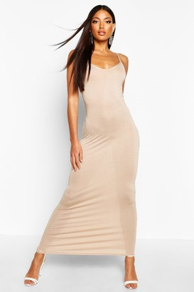boohoo Basic Strappy Maxi Dress