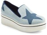 Stella McCartney Women's 'Binx Star' Slip-On Platform Sneaker
