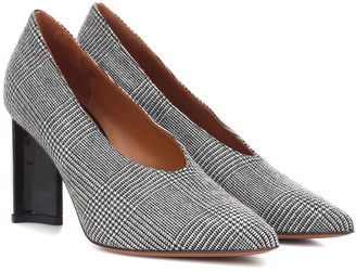Clergerie Exclusive to Mytheresa Kathleen glen plaid pumps