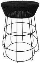 Wire & Rattan Bar Stool