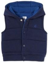 Petit Bateau Baby boys sleeveless jacket