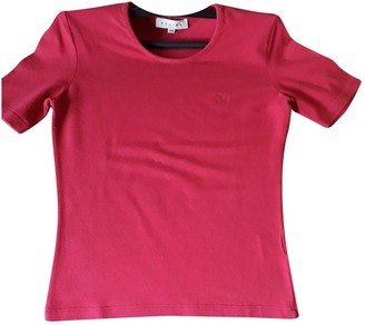 Celine Pink Cotton Tops