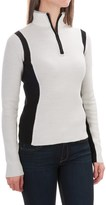 Obermeyer Verbier Ski Cashmere Sweater - Merino Wool-Cashmere, Zip Neck (For Women)