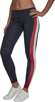 Urban Classics Women's Ladies Side Stripe Leggings