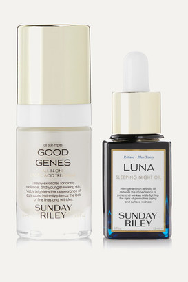 Sunday Riley Power Couple Set, 2 X 15ml - Colorless