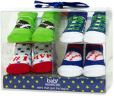 Baby Essentials Set, Baby Boys 4-Pack Sports Socks