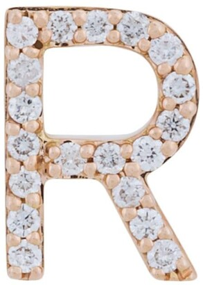 18kt gold ALINKA ID diamond stud earring
