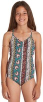 Billabong Girl's Hippy Ditsy One-Piece Swimsuit