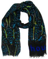 Proenza Schouler Cashmere & Silk Abstract Scarf