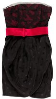 Jason Wu Silk Belted Dress