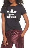 adidas Women's Trefoil Jersey Tee