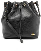 Vivienne Westwood Women's Belgravia Leather Bucket Bag Black