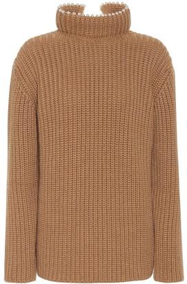 Loewe Embellished cashmere sweater