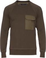 Rag & Bone Aviator crew-neck cotton sweatshirt