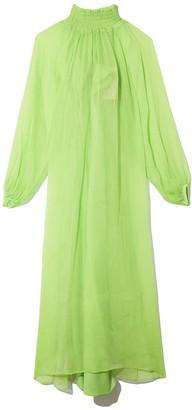 Mara Hoffman Edmonia Dress in Lime