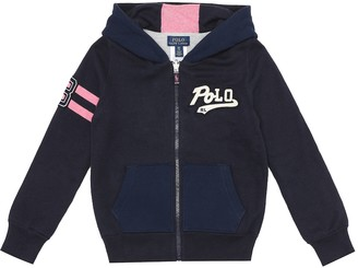 Polo Ralph Lauren Kids Reversible cotton-blend hoodie