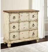 Pulaski Furniture Distressed White Chest