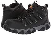 Thorogood Crosstrex Mid Waterproof Comp Toe (Black/Grey) Men's Boots