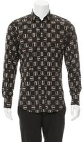 Dolce & Gabbana Castle Print Button-Up Shirt w/ Tags