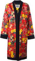 Fausto Puglisi floral print kimono - women - Silk/Spandex/Elastane/Viscose - 38