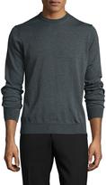 Toscano Men's Wool Crewneck Sweater