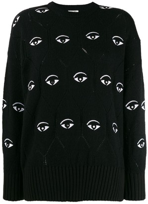 Kenzo Eye embroidered jumper