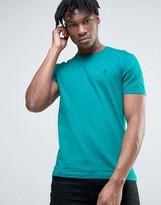 Original Penguin Small Logo T-shirt Slim Fit In Green Marl
