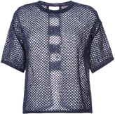 Coohem summer mesh knitted top