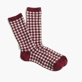 J.Crew Trouser socks in mini polka dot