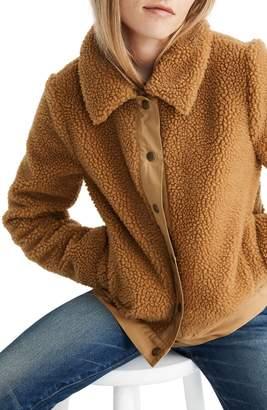 Madewell High Pile Fleece Portland Jacket