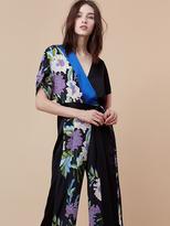 Diane von Furstenberg Faux Wrap Jumpsuit