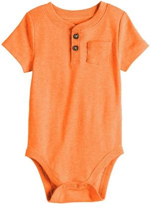Baby Boy Jumping Beans Henley Bodysuit